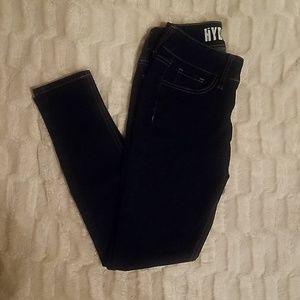 Size 3/4 hydraulic dark jeans